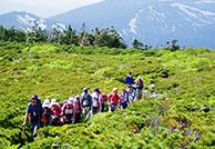 茶臼岳~八幡平山頂トレッキング
