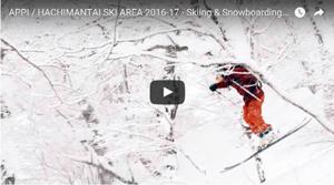 APPI  HACHIMANTAI SKI AREA 2016-17 – Skiing & Snowboarding Version