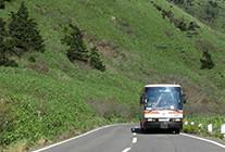 路線バスで行動